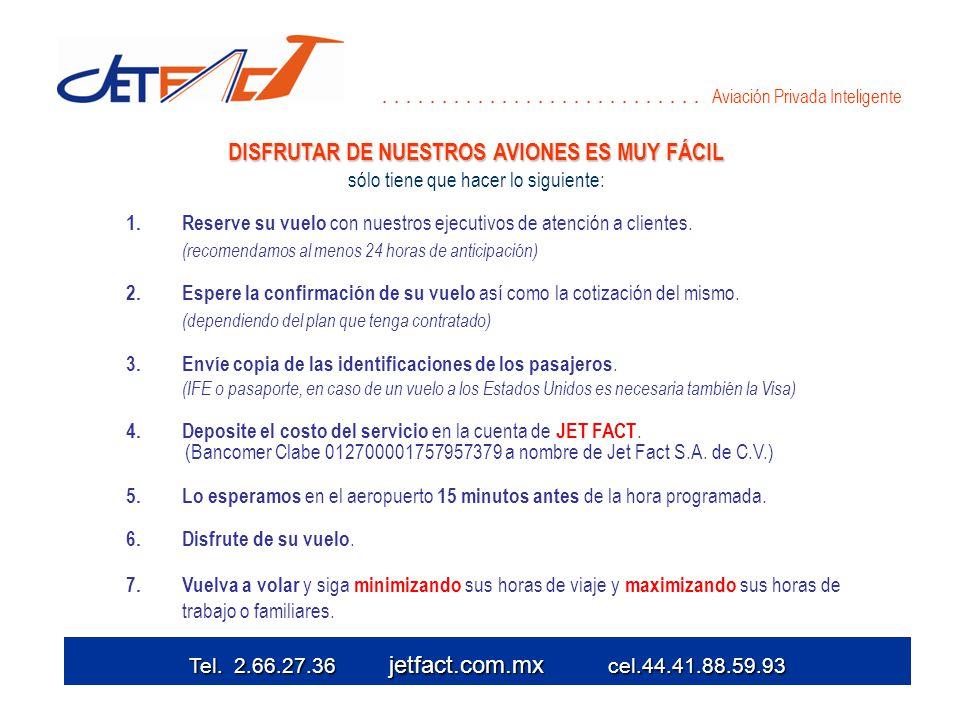 1. Reserve su vuelo con nuestros ejecutivos de atención a clientes.