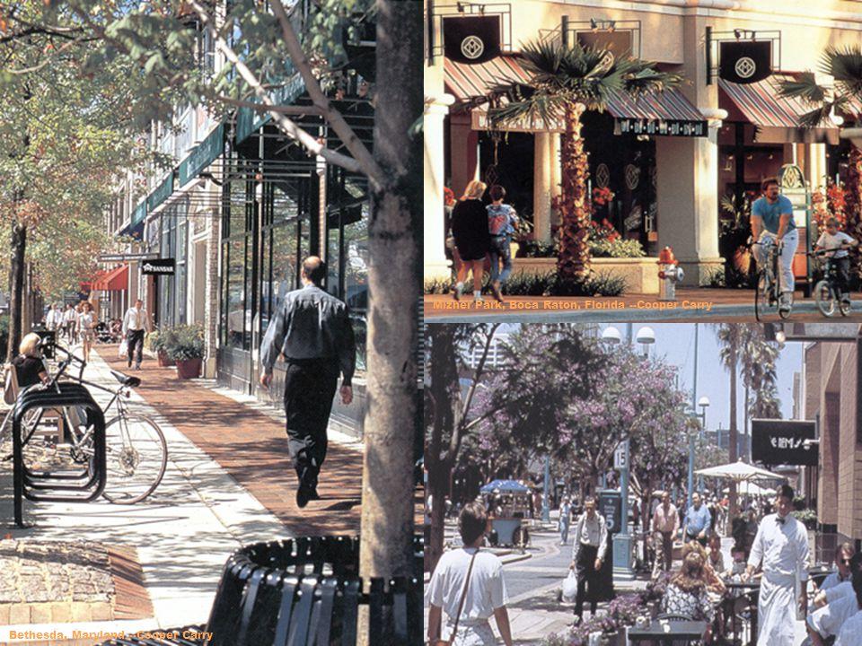 Bethesda, Maryland --Cooper Carry Mizner Park, Boca Raton, Florida --Cooper Carry