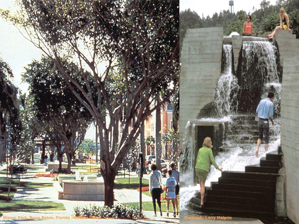 Mizner Park, Boca Raton, Florida --Cooper CarryPortland-- Larry Halprin