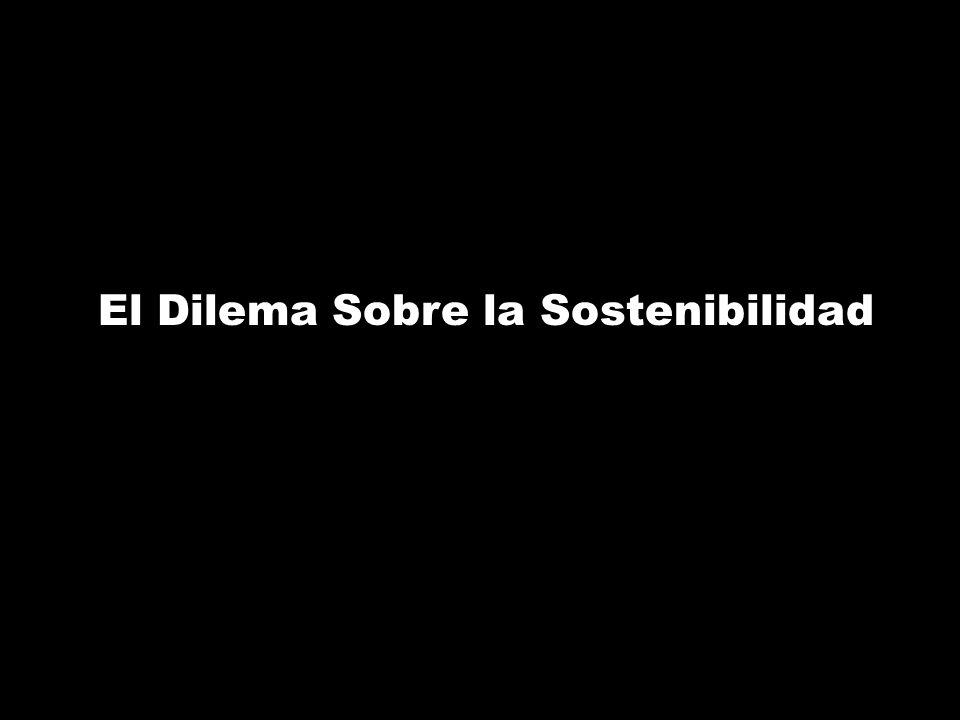 El Dilema Sobre la Sostenibilidad