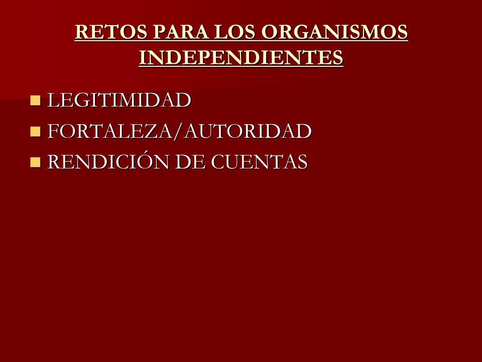 ENFRENTANDO LOS RETOS RDEC DE SEGUNDA ORDEN RDEC DE SEGUNDA ORDEN DEBATE INTERNO Y DESCENTRALIZACIÓN ESTRUCTURAL DEBATE INTERNO Y DESCENTRALIZACIÓN ESTRUCTURAL TRANSPARENCIA Y PARTICIPACIÓN DE LA SOCIEDAD TRANSPARENCIA Y PARTICIPACIÓN DE LA SOCIEDAD