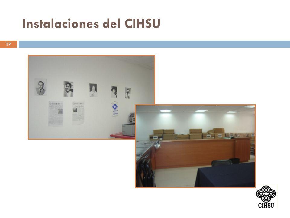 17 Instalaciones del CIHSU
