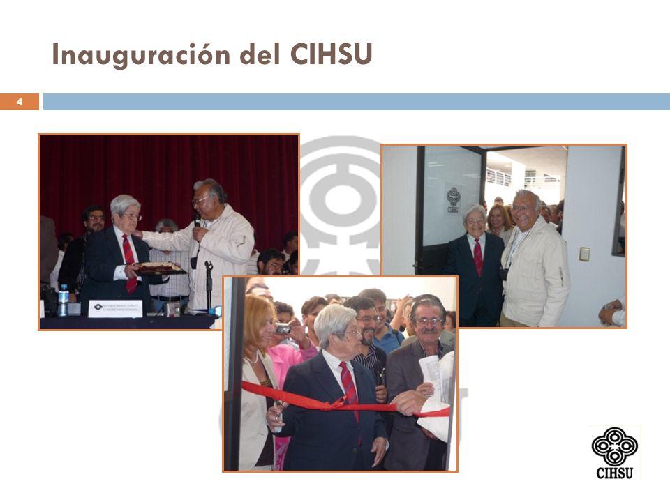 Inauguración del CIHSU 4