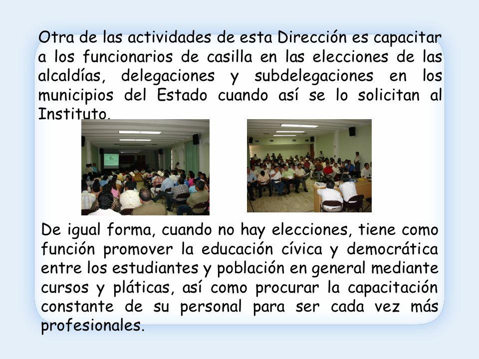 En el Instituto Electoral de Quintana Roo estamos trabajando para ti.