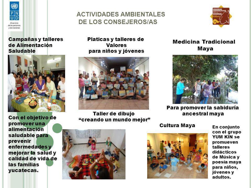 Campañas y talleres de Alimentación Saludable Con el objetivo de promover una alimentación saludable para prevenir enfermedades y mejorar la salud y c