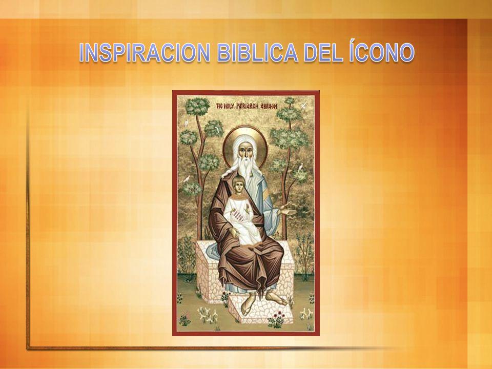El Hijo, el Señor Jesucristo El ángel del centro representa a la segunda Persona, el Hijo amado del Padre, el Señor Jesucristo: está vuelto hacia el Padre, todo lo recibe de él; su mirada es de amor, del don total de sí.