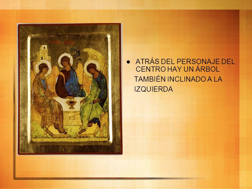 Atrás del personaje de la izquierda, está la casa del Padre, el polo hacia el que todo converge.