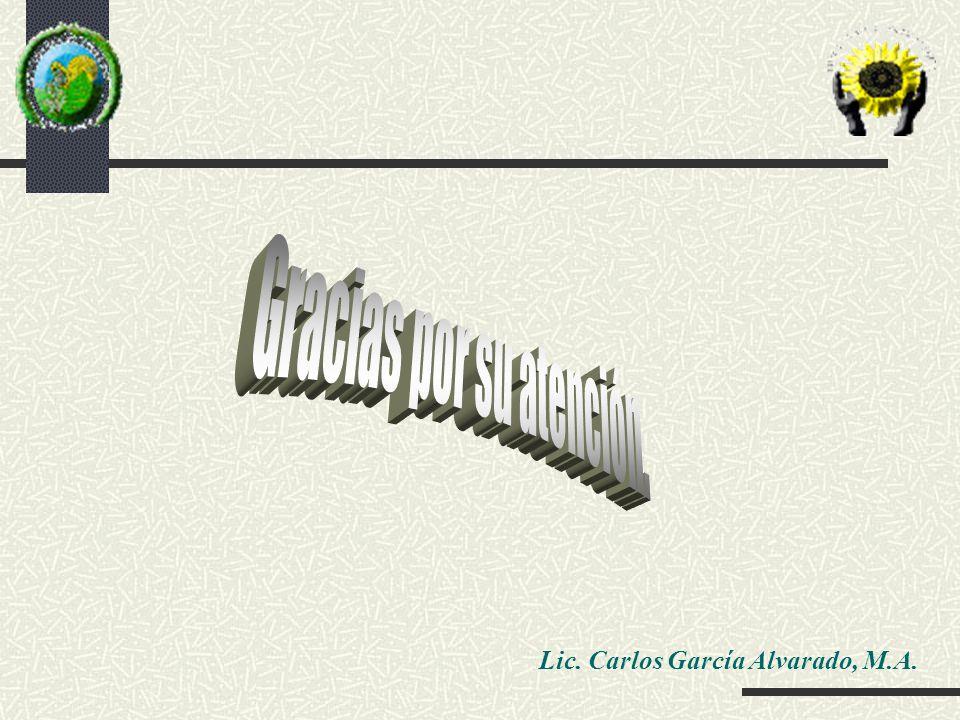 Lic. Carlos García Alvarado, M.A.
