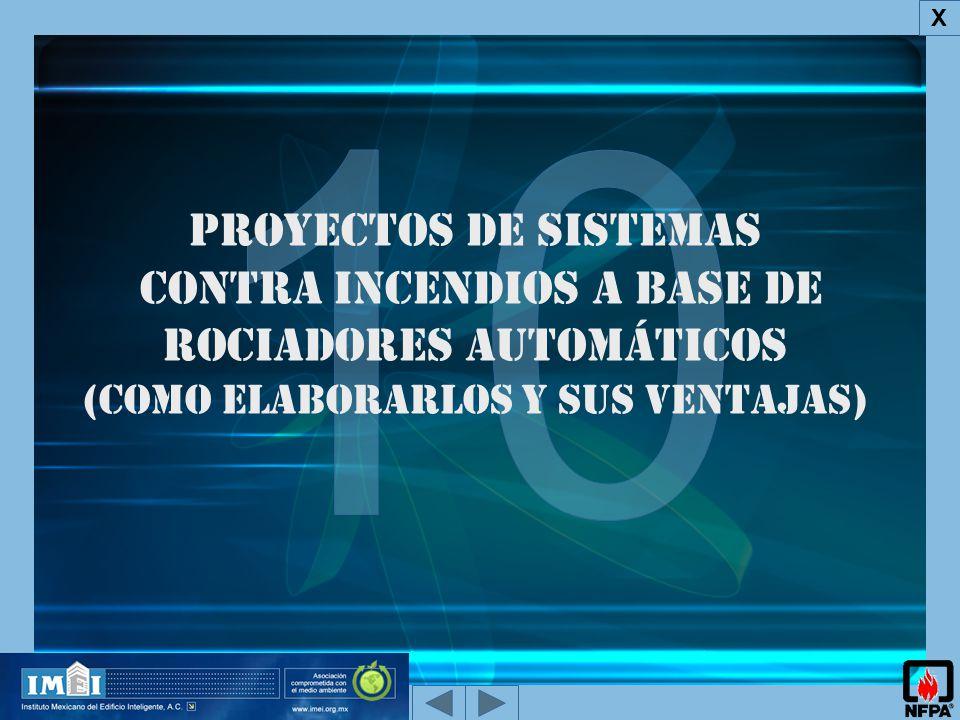 Proyectos de Sistemas Contra Incendios a base de rociadores automáticos (como elaborarlos y sus ventajas) X