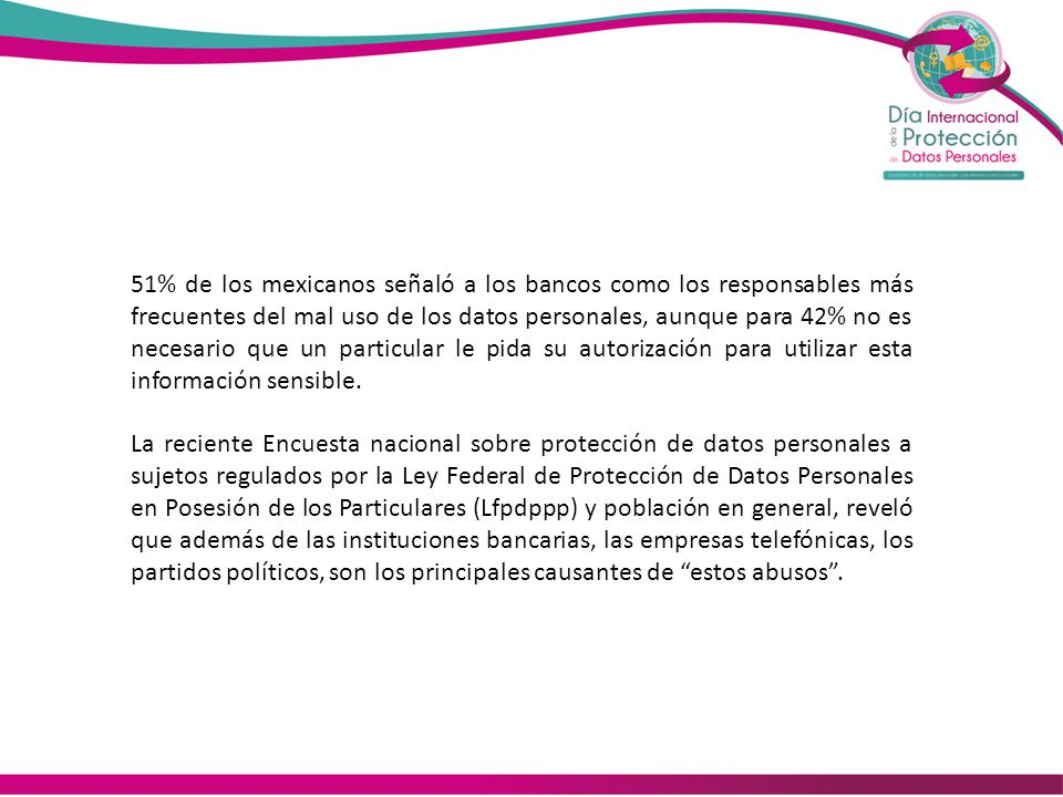 Estados que Cuentan Con Ley de Protección de Datos Personales Estado 1 Campeche 2 Chihuahua 3 Colima 4 Distrito Federal 5 Edo de Mexico 6 Guanajuato 7 Oaxaca 8 Puebla 9 Tlaxcala 10 Veracruz