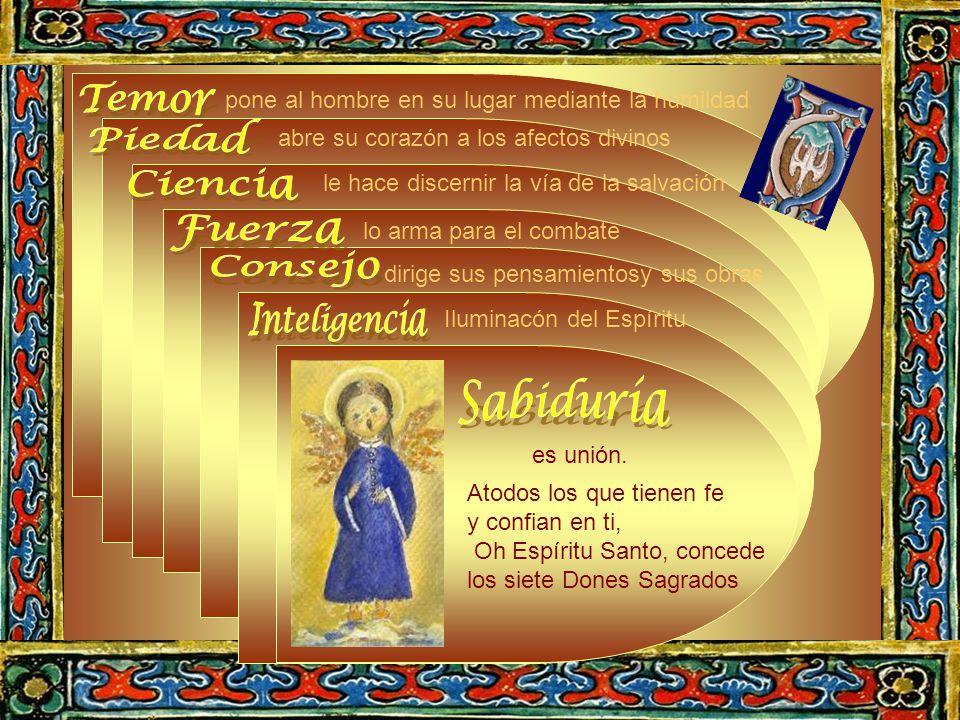 La Sabiduria es la unión. Ahora bien la unión con el Bien soberano se lleva a través de la voluntad.