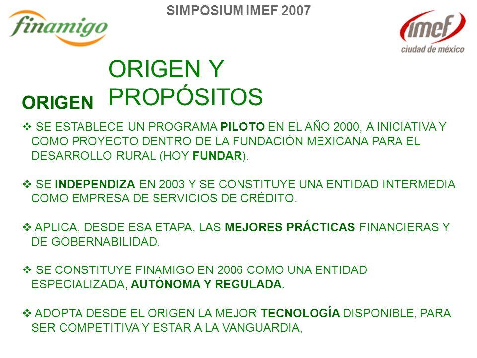 SE ESTABLECE UN PROGRAMA PILOTO EN EL AÑO 2000, A INICIATIVA Y COMO PROYECTO DENTRO DE LA FUNDACIÓN MEXICANA PARA EL DESARROLLO RURAL (HOY FUNDAR).