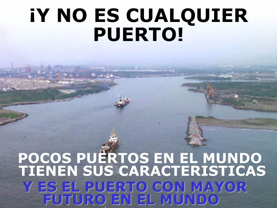 El Puerto de Lázaro Cárdenas es como un gran diamante sin pulir:TIENE UN GRAN VALOR, PERO POCOS SABEN LO QUE VALE.