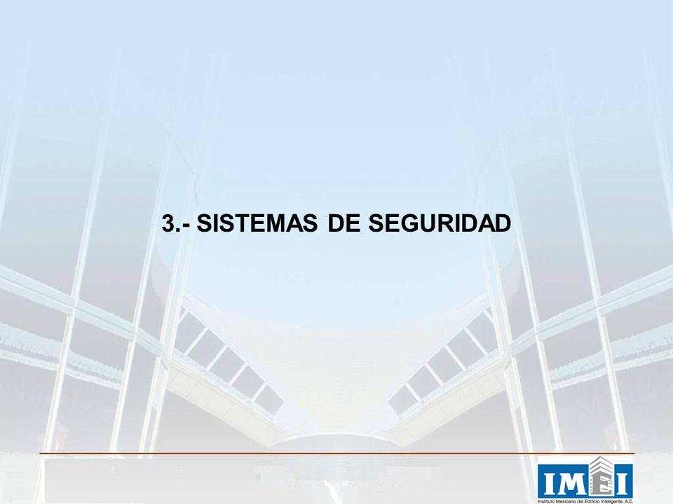 3.- SISTEMAS DE SEGURIDAD