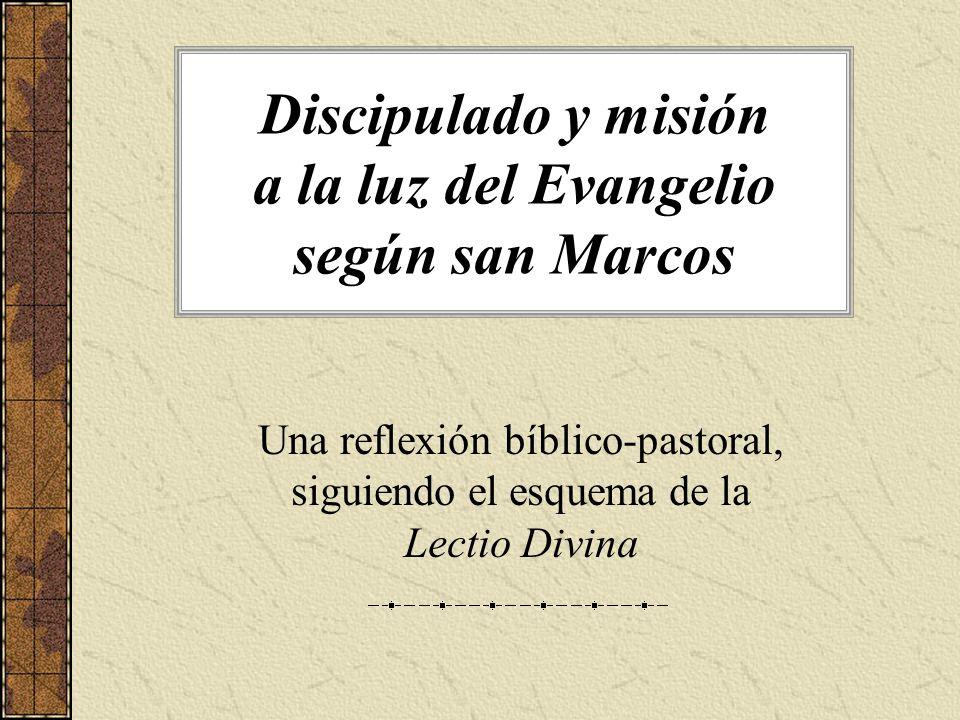 La Vocación Una mirada de Jesús que elige.Iniciativa de Jesús que llama.