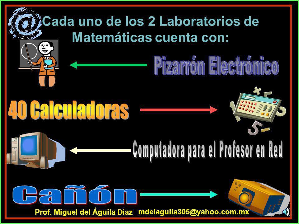 Cada una de las 6 Aulas contiene: mdelaguila305@yahoo.com.mx Prof. Miguel del Águila Díaz