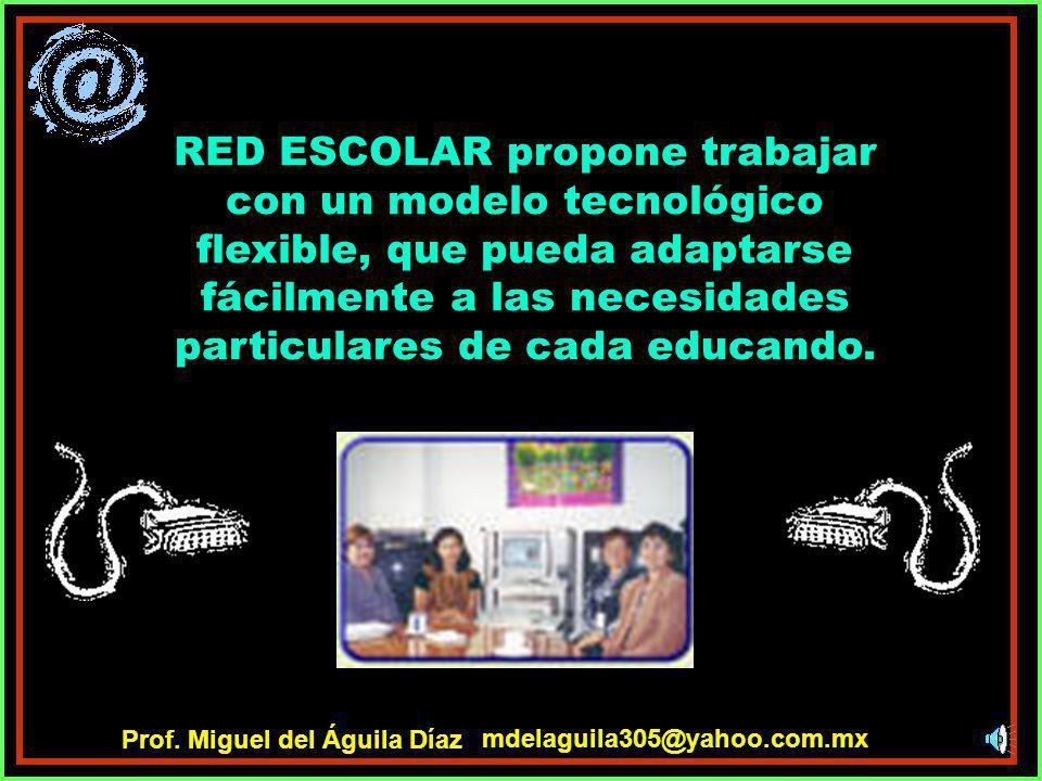 ¿Qué es Red Escolar? El propósito principal de Red Escolar es brindar las mismas oportunidades educativas a todos los alumnos de nuestro plantel, prop