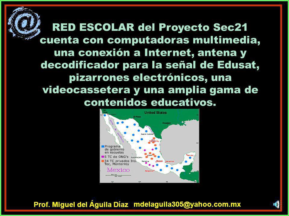 RED ESCOLAR propone trabajar con un modelo tecnológico flexible, que pueda adaptarse fácilmente a las necesidades particulares de cada educando. mdela