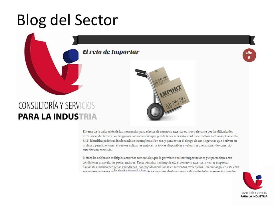 Blog del Sector