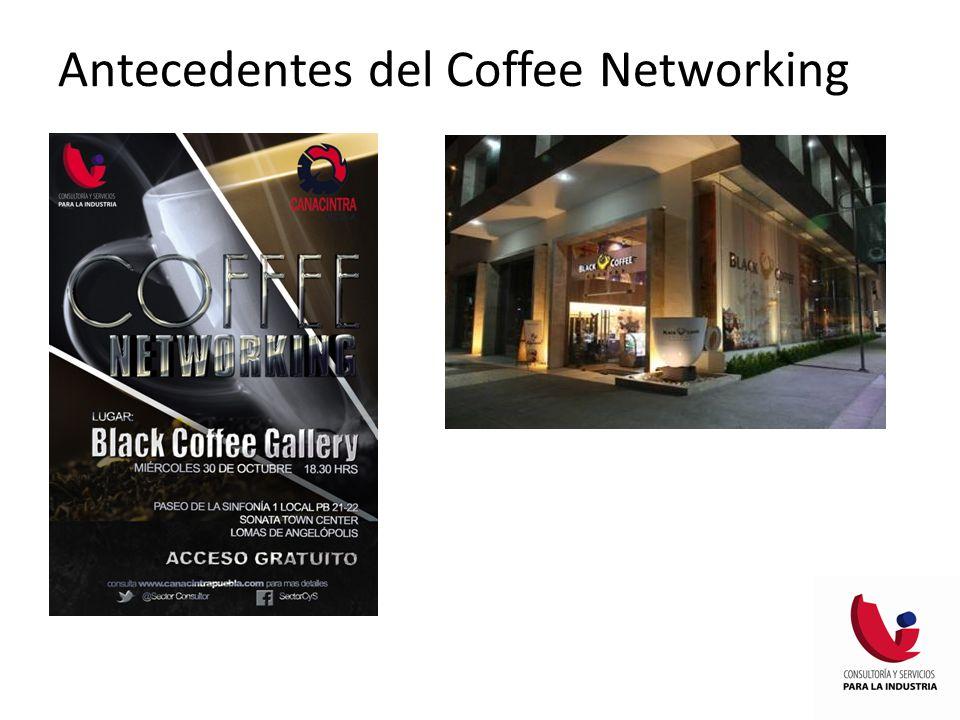 Antecedentes del Coffee Networking