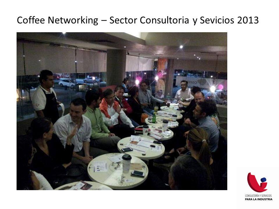 Coffee Networking – Sector Consultoria y Sevicios 2013