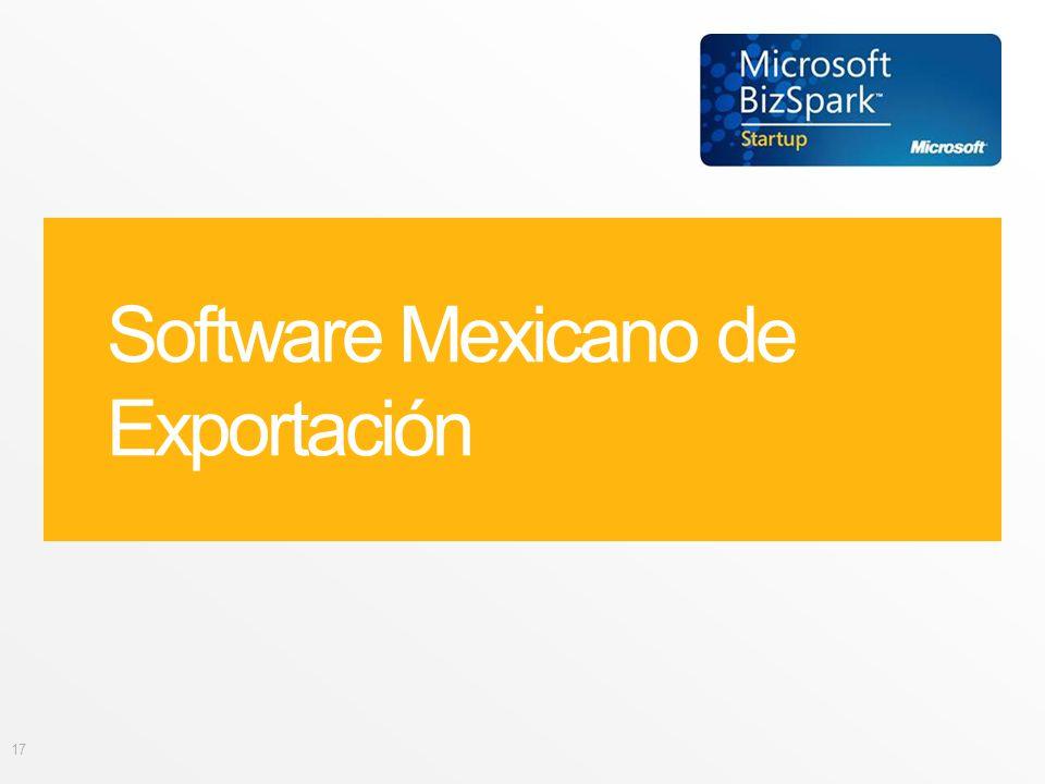 Software Mexicano de Exportación 17