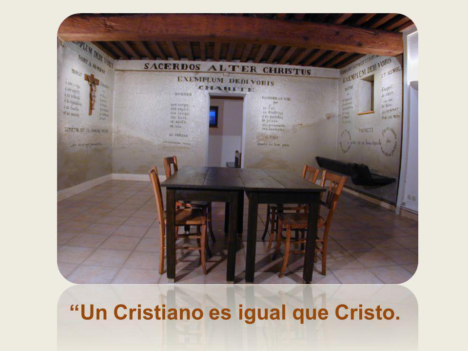 El sacerdote es un hombre despojado, un hombre crucificado, un hombre comido»