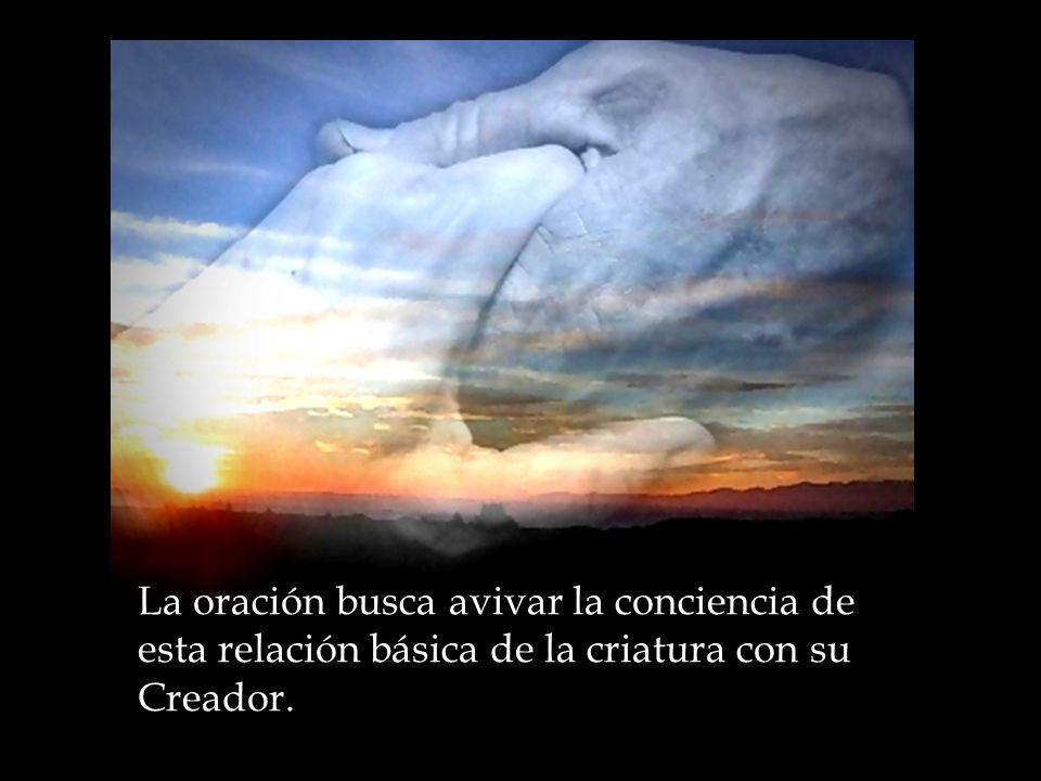 Le conocemos en y a través de nosotros, en la medida en que su verdad sea la fuente de nuestro ser, y su amor misericordioso el auténtico corazón de nuestra existencia: ser amado por el como nuestro CREADOR y REDENTOR y amarlo a su vez.