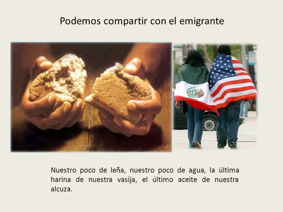 Podemos dejar solos a quienes, gobiernos o mafias, les están robando la vida.