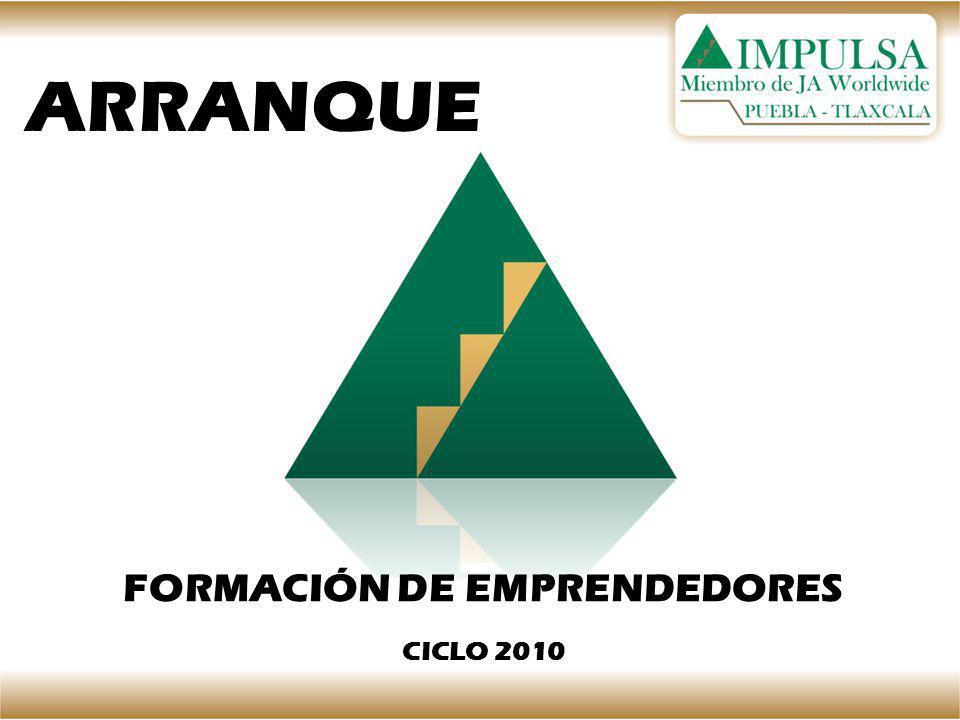 ARRANQUE FORMACIÓN DE EMPRENDEDORES CICLO 2010