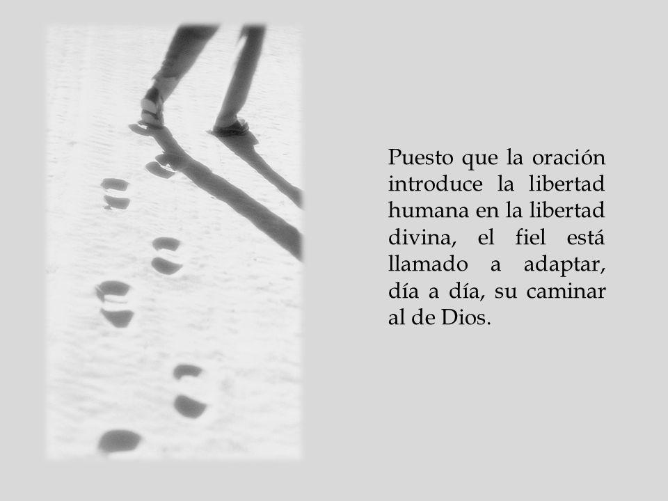 Pero la oración también es trabajo y esfuerzo para entrar en la totalidad del proyecto de Dios. En la oración el servidor trabaja para comprender el d
