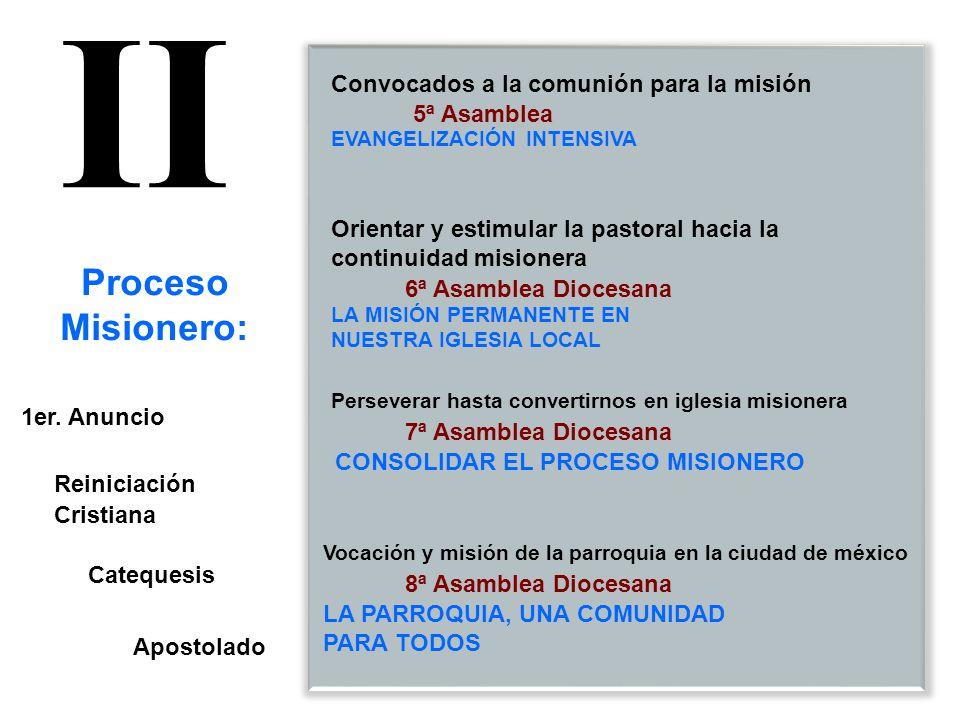 9ª Asamblea 10ª Asamblea Diocesana 11ª Asamblea Diocesana La pastoral social y el proceso evangelizador de la Arquidiócesis de México A diez años del decreto Sinodal.