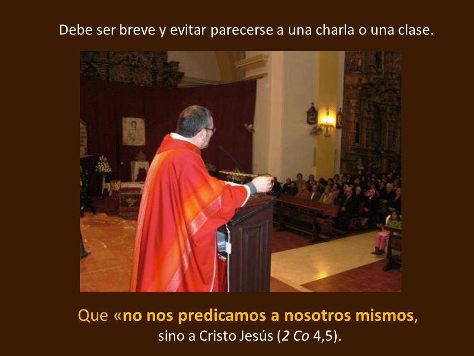 El predicador tiene la hermosísima y difícil misión de aunar los corazones que se aman…...