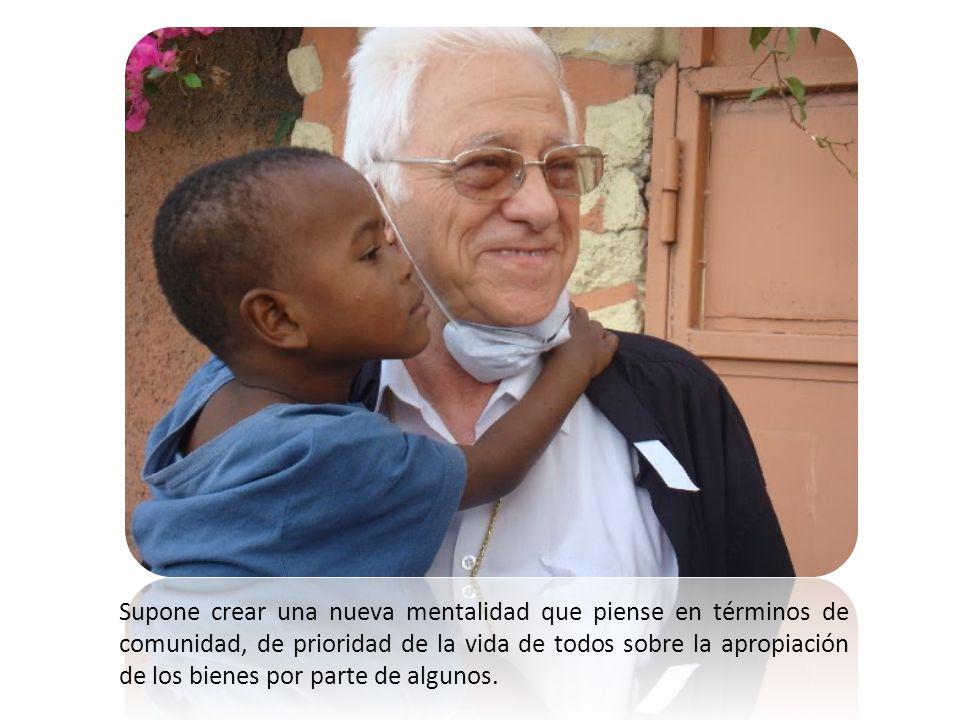 La «solidaridad» es mucho más que algunos actos esporádicos de generosidad