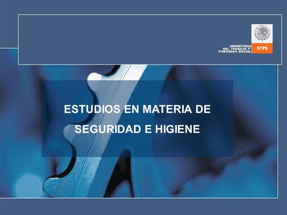 OBJETIVO - Los participantes comprenderán la diferencia entre los estudios en materia de seguridad e higiene que se requieren en las Normas Oficiales Mexicanas que ha emitido la Secretaría del Trabajo y Previsión Social.