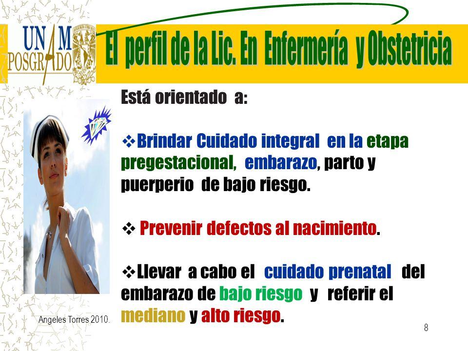 8 Está orientado a: Brindar Cuidado integral en la etapa pregestacional, embarazo, parto y puerperio de bajo riesgo. Prevenir defectos al nacimiento.