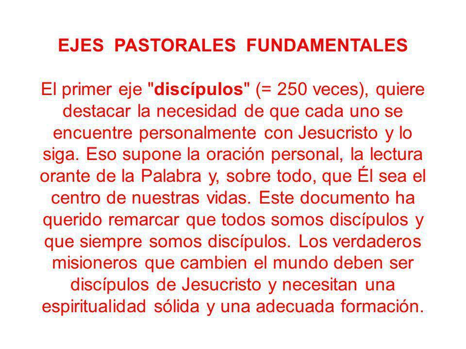 Capítulo 4 LA VOCACIÖN DE LOS DISCÍPULOS MISIONEROS A LA SANTIDAD 4.1.