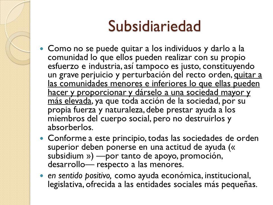 """La presentaci�n """"Los principios de la Doctrina Social de la ..."""