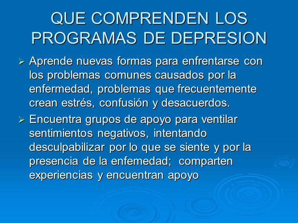 Aprende nuevas formas para enfrentarse con los problemas comunes causados por la enfermedad, problemas que frecuentemente crean estrés, confusión y desacuerdos.