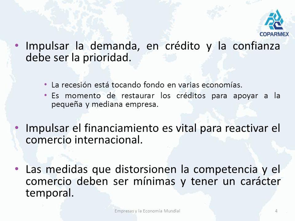 El proteccionismo causaría una crisis aún peor.