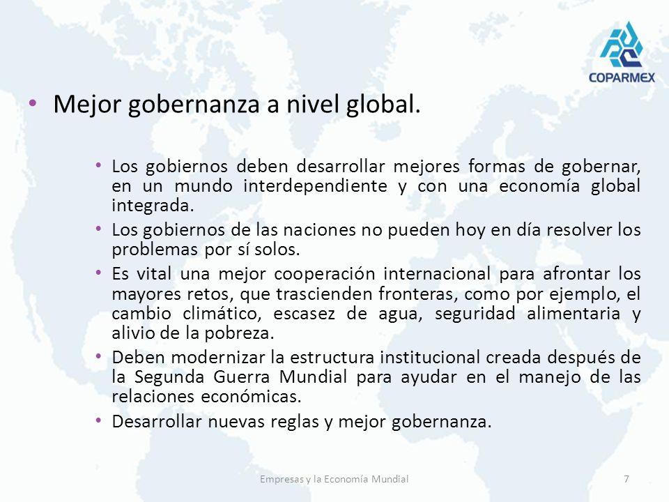 Cambio Climático El cambio climático es el mejor ejemplo de un problema global, que requiere una solución global.