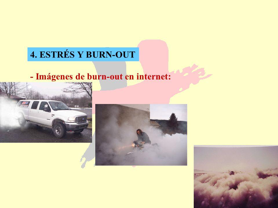 28 - Imágenes de burn-out en internet: 4. ESTRÉS Y BURN-OUT