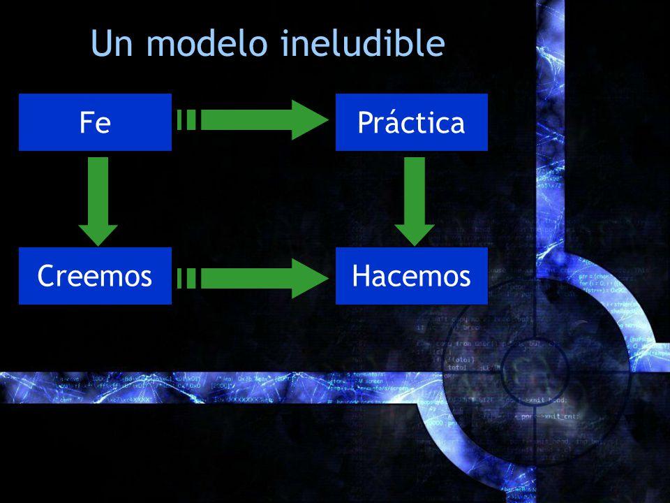 Un modelo ineludible PrácticaFe CreemosHacemos