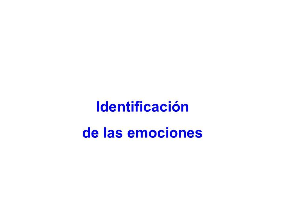 Identificación de las emociones