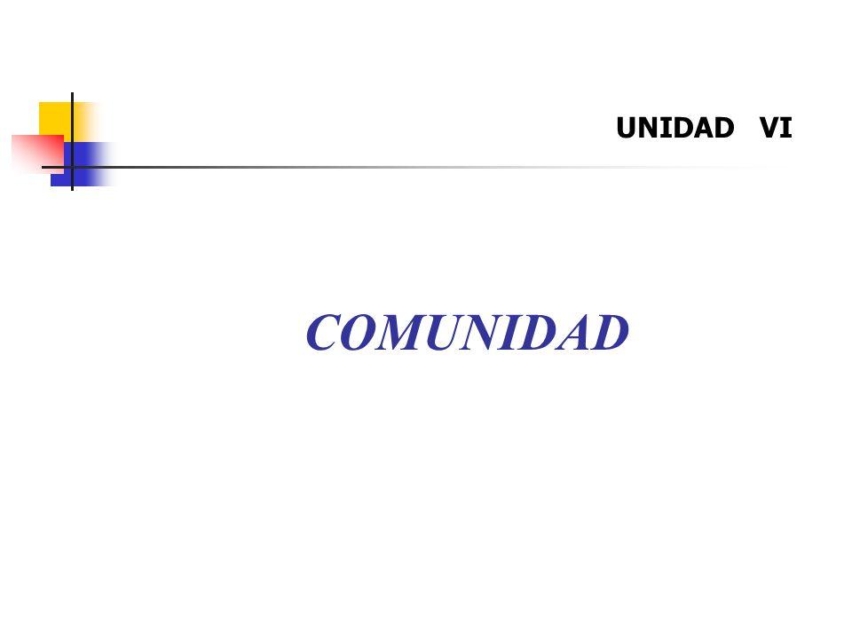 COMUNIDAD UNIDAD VI