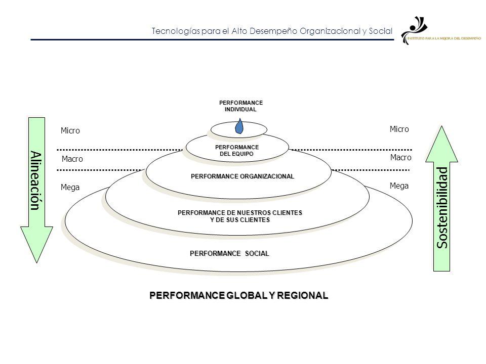 Tecnologías para el Alto Desempeño Organizacional y Social Estrategia de performance (Kaufman)Estrategia de performance (Kaufman)PERFORMANCEINDIVIDUAL