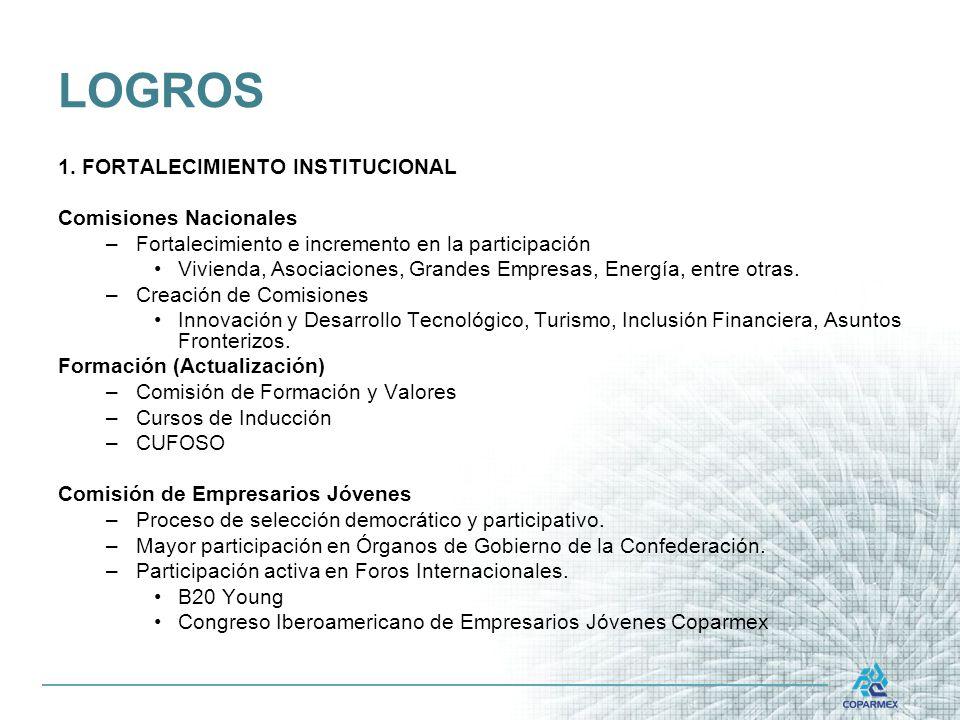 LOGROS 1.