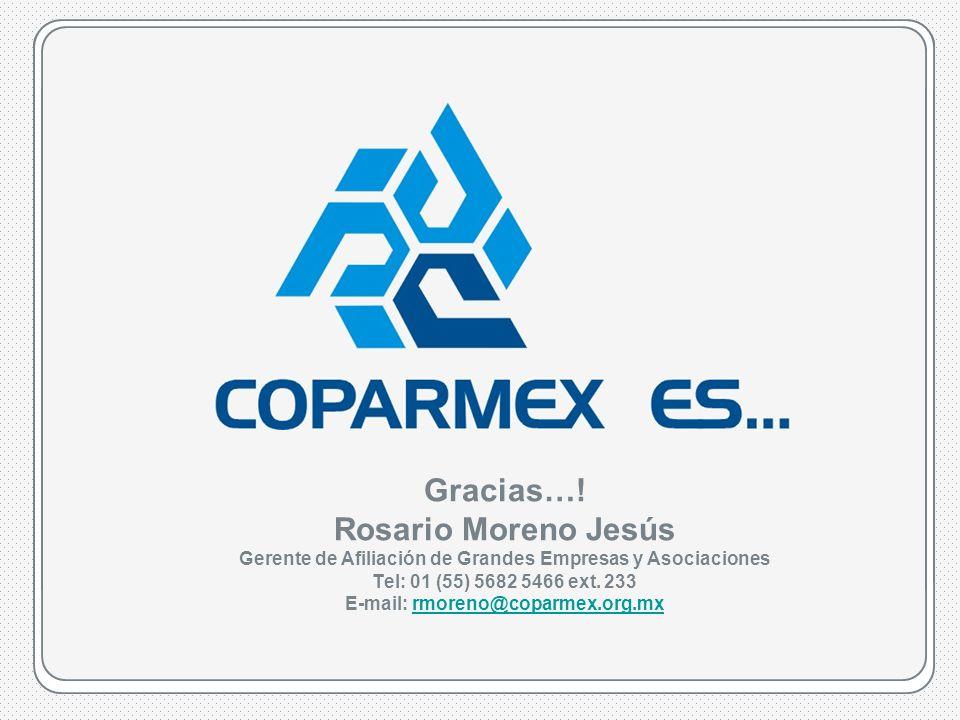 COPARMEX es…www.coparmex.org.mx Gracias….