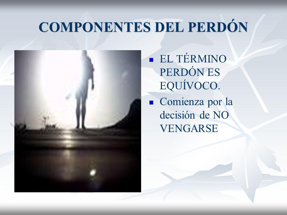 CULPA Y PERDÓN FALSAS CONCEPCIONES DEL PERDÓN 7. PERDONAR NO ES TRASPASAR LA RESPONSABILIDAD A DIOS