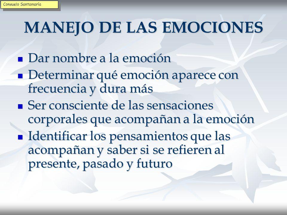 EMOCIONES DESADAPTATIVAS Las emociones pueden producir incomodidad y sufrimiento por ello es necesario saber manejarlas Las emociones pueden producir incomodidad y sufrimiento por ello es necesario saber manejarlas Emociones como furia, envidia, enfado, etc.
